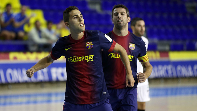 El FC Barcelona Alusport golea al Burela FS y se sitúa líder de la LNFS
