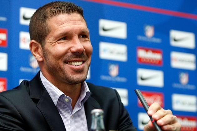"""Главный тренер """"Атлетико"""" Симеоне признан лучшим тренером года в Южной Америке"""