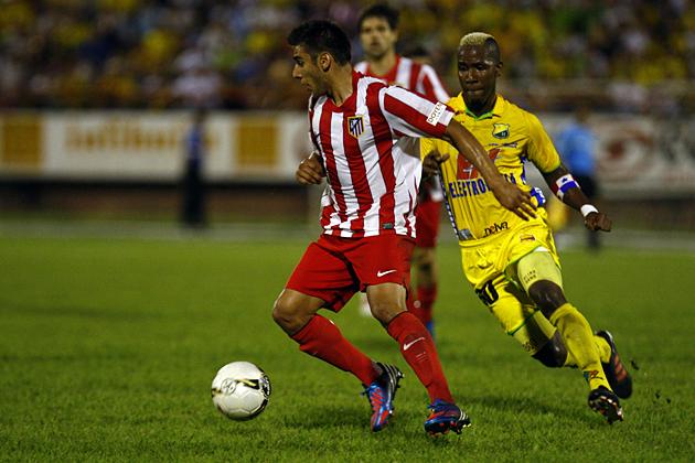 El Atlético cierra su gira por Colombia con un gran Salvio