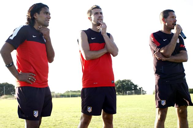 """Gabi: """"Esperamos que sea una temporada muy larga y cumplir los objetivos"""""""