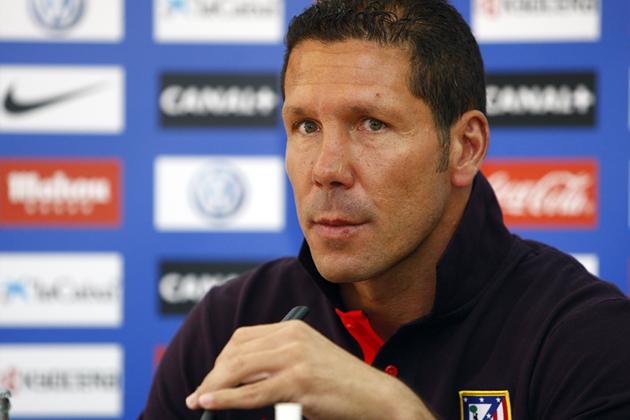 """Simeone: """"Óliver Torres jugará con el filial, no lo apuren"""""""
