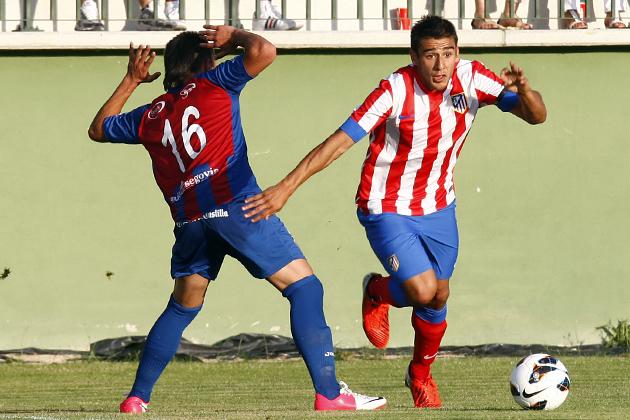 El Atlético vence sin brillo en Segovia
