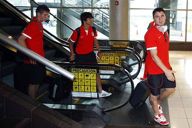El Atlético de Madrid llega a Costa Rica