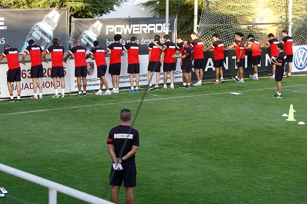 Simeone convoca a 18 jugadores para enfrentarse al Valladolid