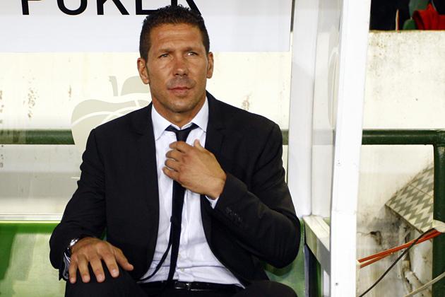 """Simeone: """"Creo que merecimos ganar el partido por las posibilidades de gol"""""""