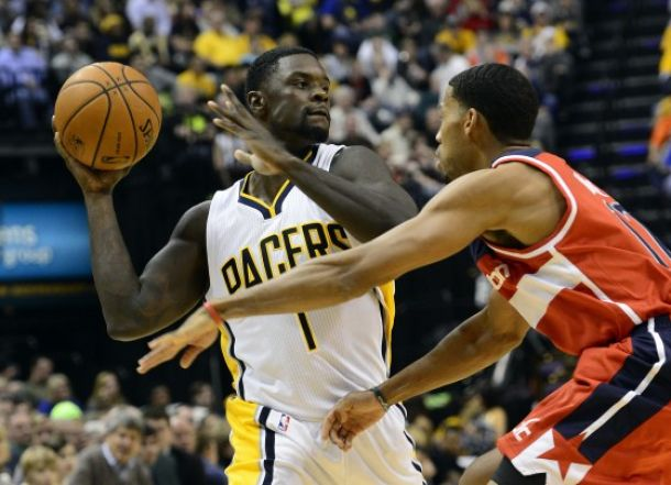I Pacers dominano sui Wizards