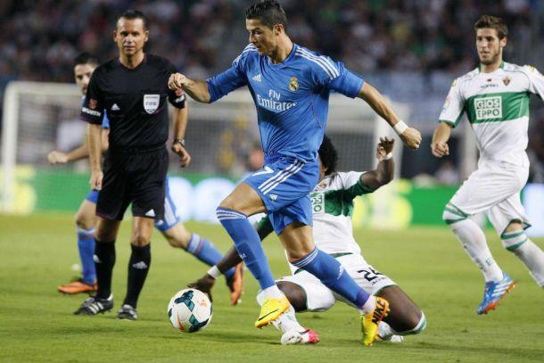 La vista atrás de los Elche - Real Madrid