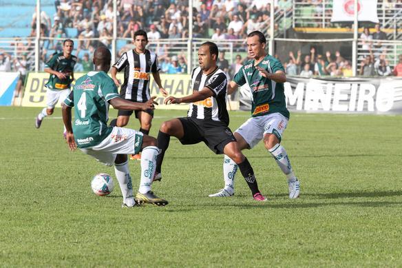 Com um a menos, reservas do Atlético-MG perdem para a Caldense