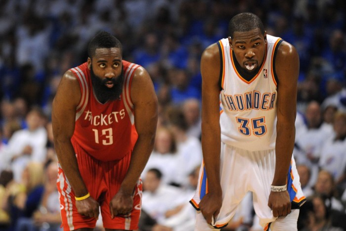 Oklahoma City Thunder Close Out Houston Rockets In Thriller