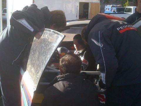 Pikes Peak - Loeb dans le tempo aux essais