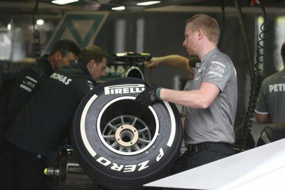 Pas de nouveaux pneus Pirelli à Silverstone
