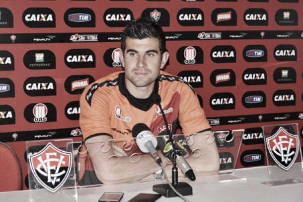 Vitória anuncia retorno de Fernando Miguel até 2015