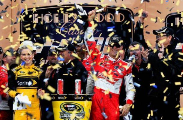 NASCAR - Kansas : Harvick revient de loin