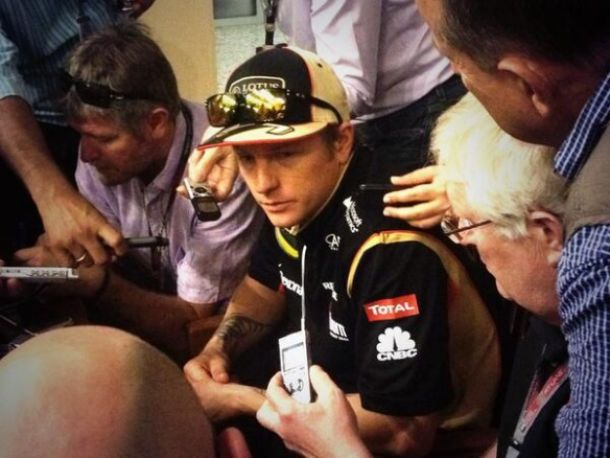 Saison finie pour Räikkönen !