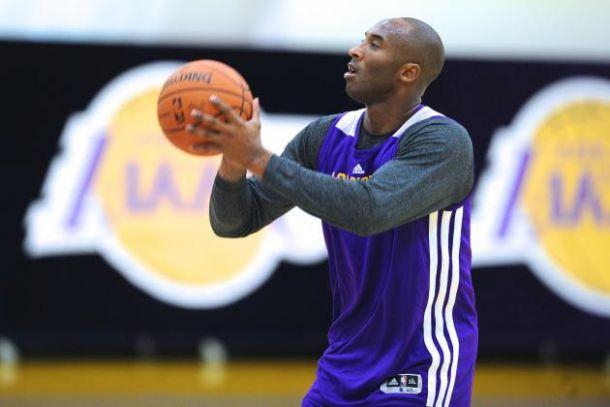 NBA, Kobe torna ad allenarsi
