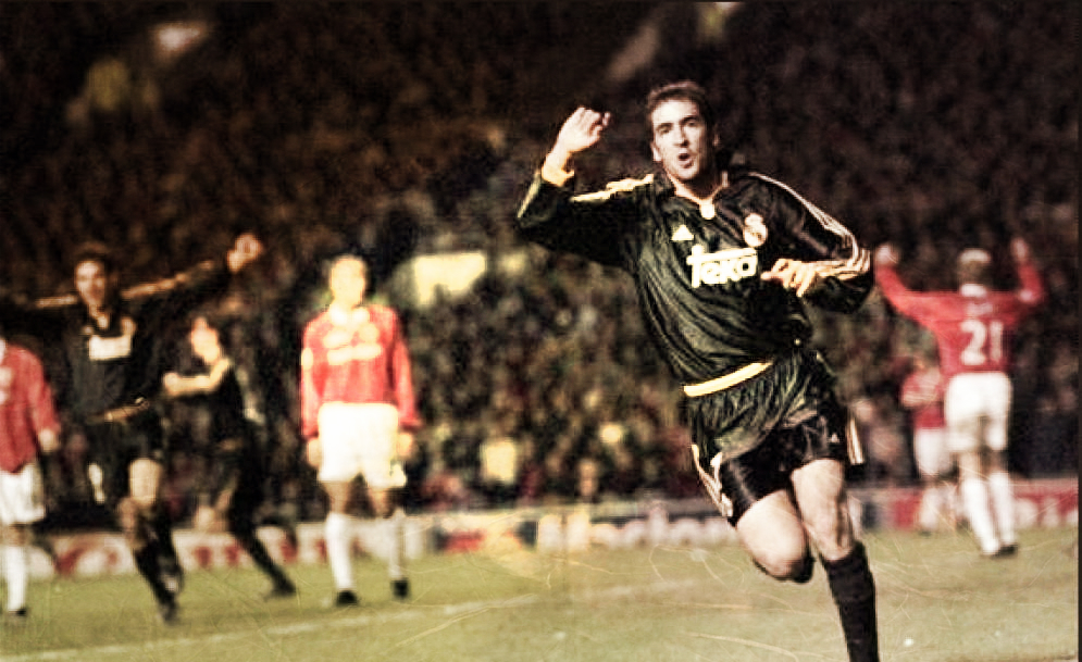 Serial Real Madrid - Manchester United: 1999/2000, taconazo del Madrid en el 'Teatro de los Sueños'