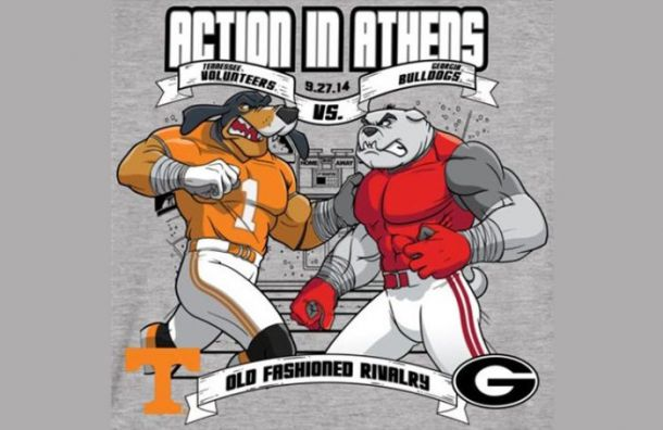 Tennessee Volunteers - Georgia Bulldogs Live Score, and ...
