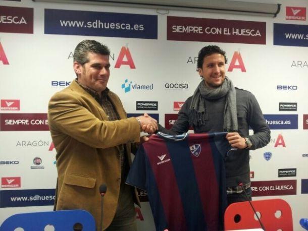 Gaspar Gálvez se une al proyecto del Huesca