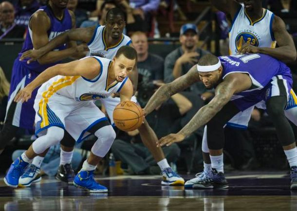 Golden State Warriors Throttle Sacramento Kings In First Game Of The Season