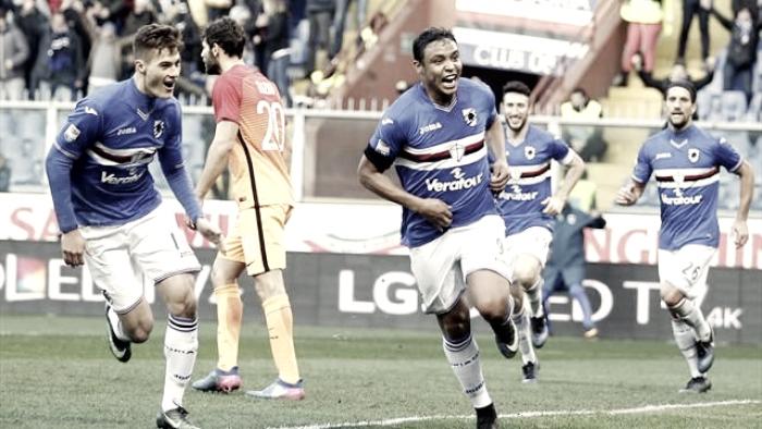 Sampdoria: preso Verre, addio a Pereira. Sufficienza per la Doria in questa sessione di mercato