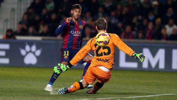 El Elche no puede con un Barça muy superior