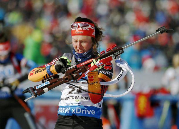 Biathlon, sprint femminile Nove Mesto: Germania uber alles, Dahlmeier e Hildebrand firmano la doppietta tedesca