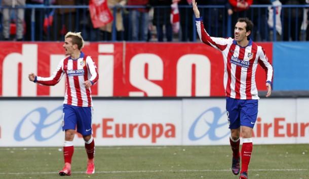 Godín y Griezmann, nominados al once del año de la UEFA