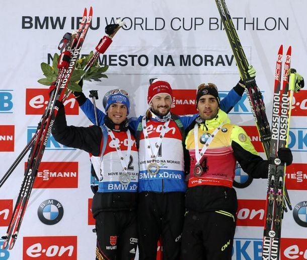 Biathlon, Nove Mesto: ancora Fak nell'Inseguimento