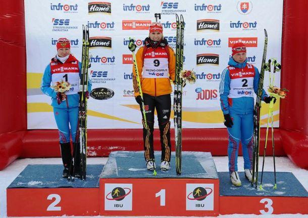 Biathlon, inseguimento femminile Nove Mesto: vince Domracheva nella bufera, seconda Kaisa Makarainen!