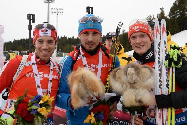 Biathlon, Inseguimento maschile: a Khanty Mansiysk vince Nathan Smith, Fourcade re di Coppa