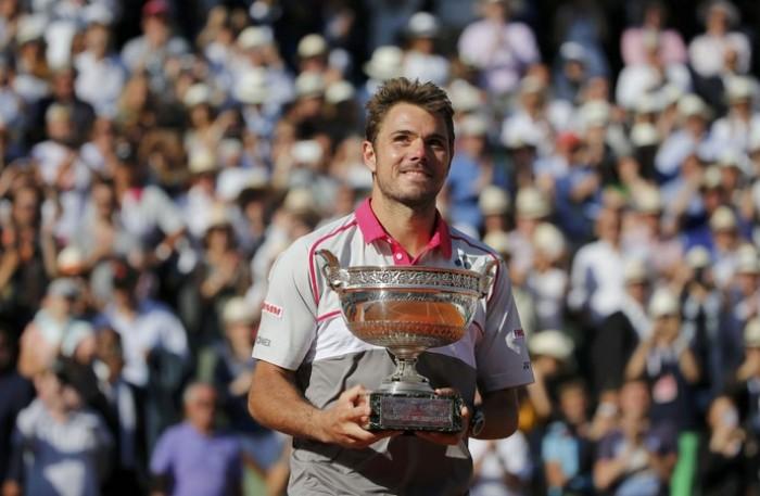 Stan Wawrinka, para tentar defender o título em Roland Garros