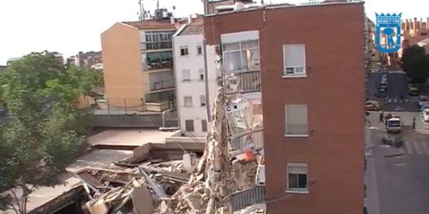 Santa Lucía no cubrirá los gastos de desplome a los vecinos de Carabanchel