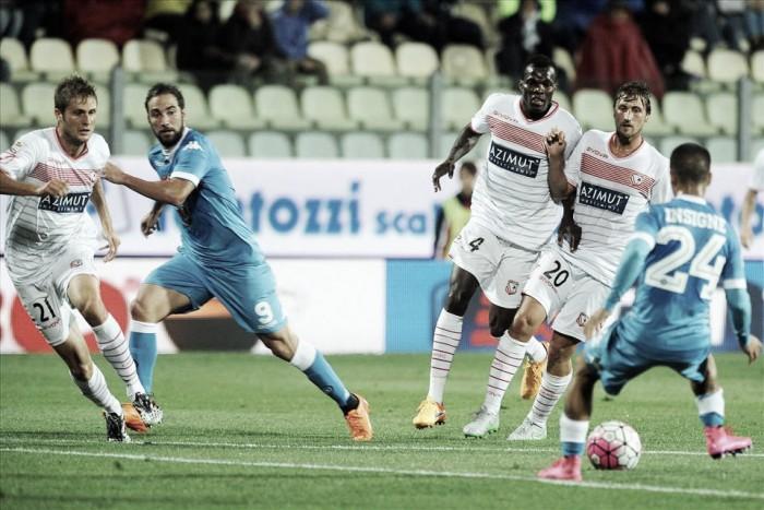 Nápoles vs Carpi en vivo y en directo Serie A (0-0)