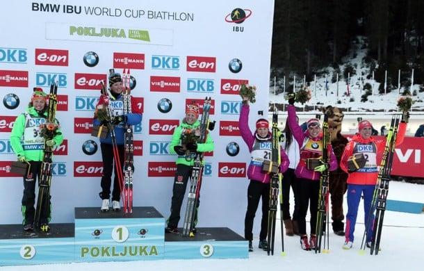 Biathlon - Pokljuka: Sprint femminile a Dorin, Dahlmeier seconda