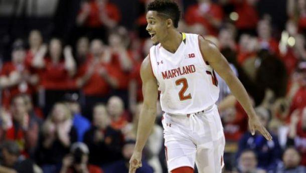 Trimble Leads No. 14 Maryland Past Michigan State