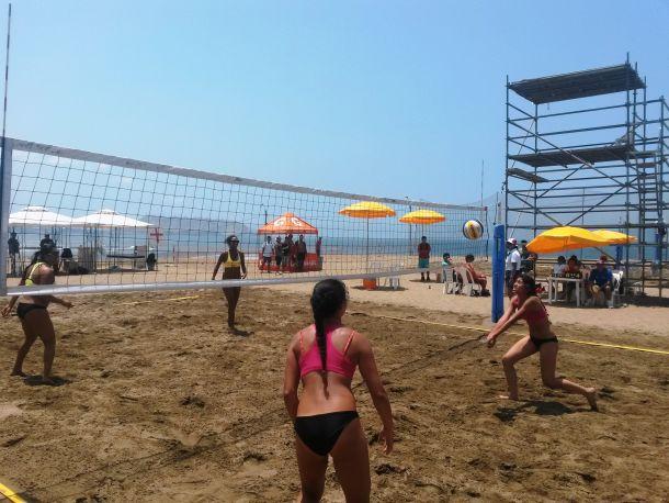 Arranca Nacional de Voley Playa