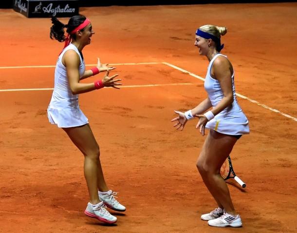 Kristina Mladenovic And Caroline Garcia Announce 2016 Doubles Partnership