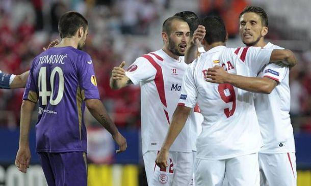 """Europa League, Fiorentina sconfitta a Siviglia. Montella: """"Impresa al ritorno? Io ci credo"""""""