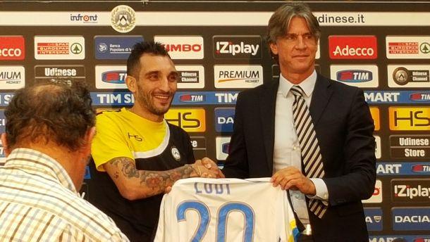 Udinese, presentato il nuovo acquisto Lodi