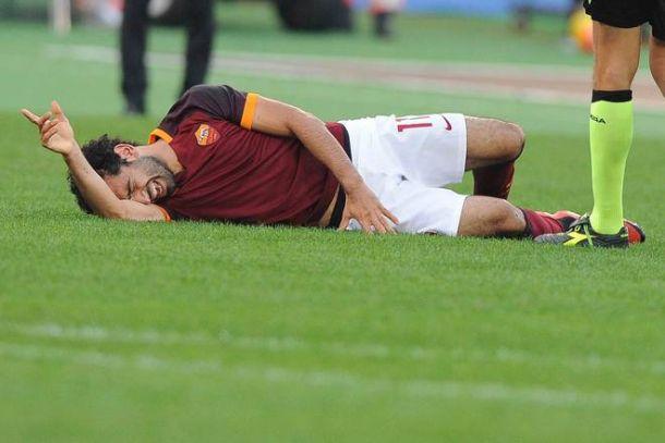 Roma, Salah ai box per almeno un mese