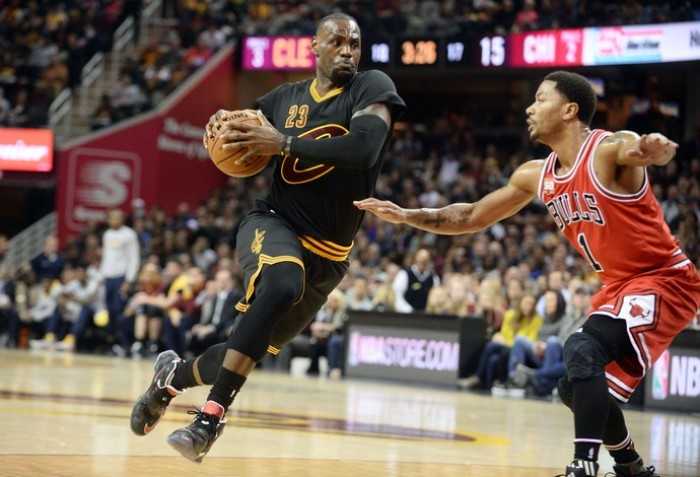 Short-Handed Chicago Bulls Fall To The Cleveland Cavaliers, 106-95