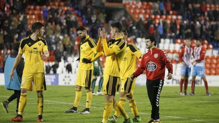 CD Lugo - CA Osasuna: puntuaciones Osasuna, jornada 28 Liga Adelante