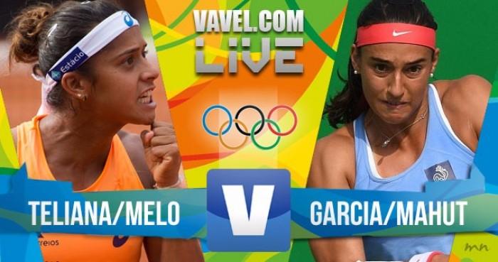 Resultado Melo/ Pereira x Mahut/ Garcia no tênis dos Jogos Olímpicos Rio 2016 (2-0)
