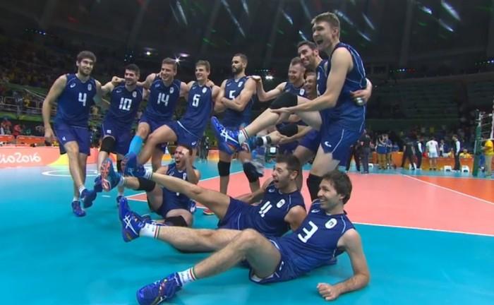 Rio 2016 - L'ItalVolley schianta l'Iran 3-0