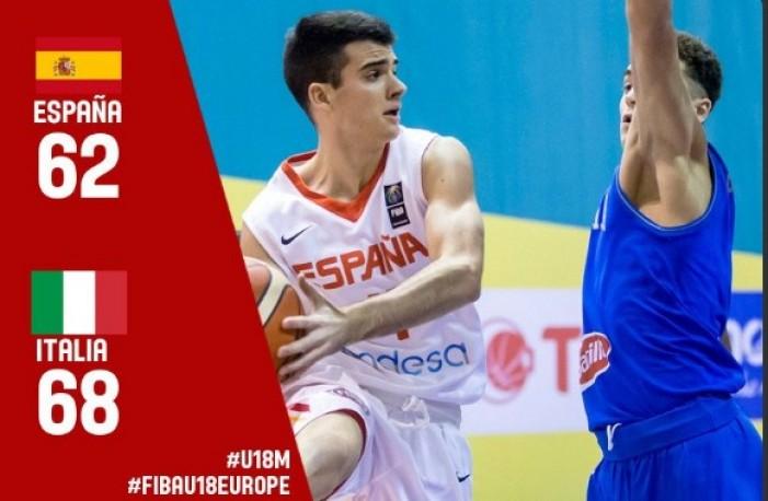 EuroBasket U18 - L'Italia ferma la Spagna e vince il suo girone