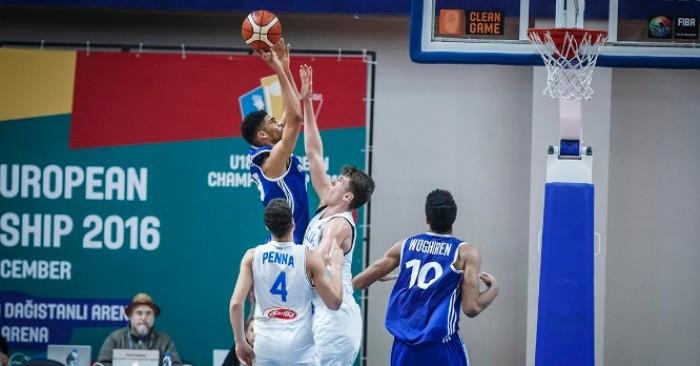 EuroBasket U18 - L'Italia cede alla Francia, trascinata da uno stratosferico Ntilikina