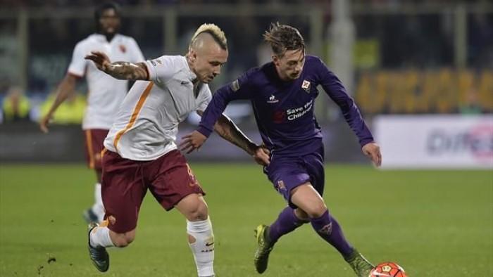 Roma - Fiorentina terminata in Serie A 2015/16 (4-1): El Sha-Salah-Perotti, poi Ilicic e ancora Salah