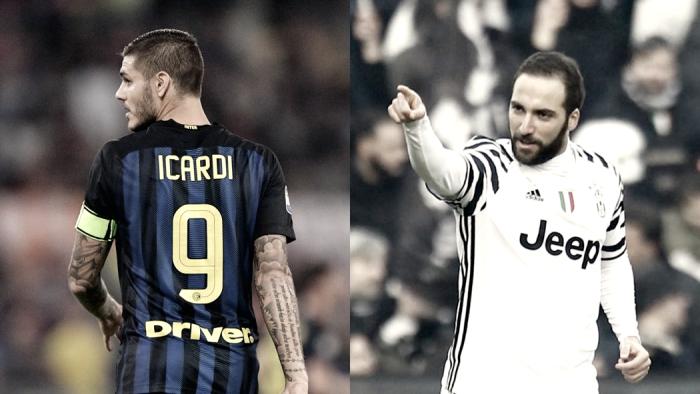 Juve-Inter, sfida nella sfida: sarà anche Higuain vs Icardi