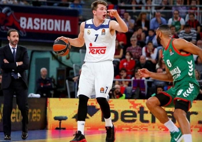 Eurolega - Luka Doncic disegna pallacanestro ed il Real Madrid si prende il primo posto