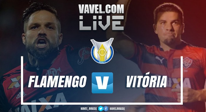 Resultado Flamengo x Vitória no Campeonato Brasileiro 2017 (0-2)